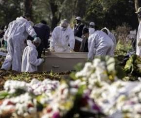 O Brasil atingiu nesta semana, mais precisamente entre terça e quarta-feira, um número de mortos para a Covid-19 que representa 0,1% de sua população de 211,8 milhões. Com os 211.5(Imagem:Reprodução)
