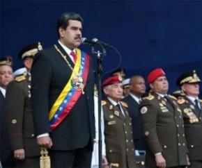 Maduro toma posse e diz que Bolsonaro é fascista contaminado pela direita venezuelana.(Imagem:Imprensa Presidencial/Venezuela)