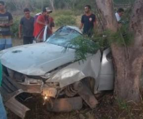 Acidente entre Bertolínia e Manoel Emídio deixa vítima fatal.(Imagem:Portal Cidade Luz)