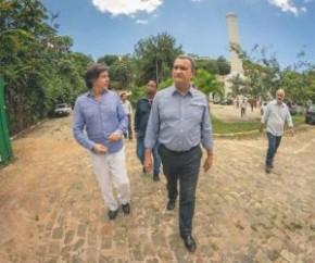 O governador da Bahia, Rui Costa (PT-BA), vai prorrogar por mais 48 horas as medidas restritivas radicais que adotou para tentar diminuir a transmissão do novo coronavírus.  O gove(Imagem:Reprodução)