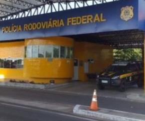 Empresário é flagrado com drogas pela PRF na BR 343 em Floriano(Imagem:Reprodução)
