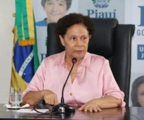 Vice-governadora Regina Sousa(Imagem:Yala Sena)