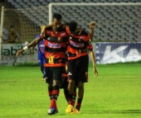 Flamengo-PI eliminado das semifinais do returno.(Imagem:Josiel Martins)