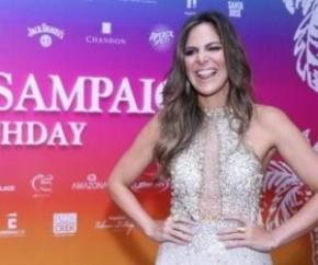 Carol Sampaio reúne famosos em sua festa de aniversário no Rio.(Imagem:Divulgação)