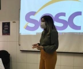 Na manhã desta quinta-feira (10), a secretária de Meio Ambiente, Haila Oka, realizou uma palestra no SESC abordando a temática da sustentabilidade. A SEMAN recebeu o convite do SES(Imagem:Reprodução)