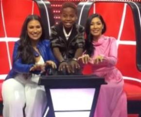 Jeremias vence The Voice Kids e gravará música com Simone e Simaria.(Imagem:Divulgação)