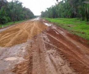 Rodovia de Boqueirão do Piauí e Boa Hora começa a ser recuperada.(Imagem:Campomaioremfoco.com)