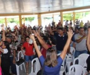 Professores aceitam proposta do governo e encerram greve.(Imagem:Sinte)