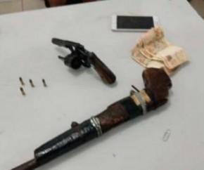 Armas apreendidas(Imagem:Divulgação)