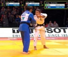 Eliminada em Paris, Sarah Menezes terá trabalho para voltar ao topo do judô mundial.(Imagem:Cidadeverde.com)