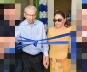 Morre em São Paulo, dona Zefinha, esposa do empresário Jorge Batista(Imagem:Reprodução)