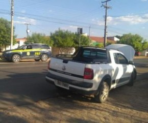 Carro roubado na Bahia(Imagem:PRF/Divulgação)