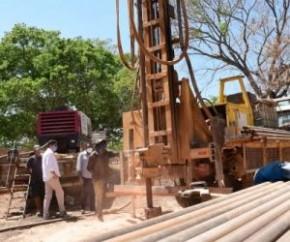 Comunidades rurais de Floriano são beneficiadas com perfuração de poços(Imagem:SECOM)