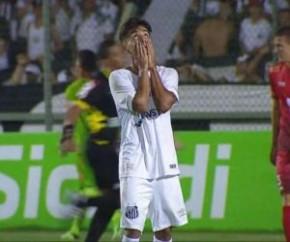 Santos empata com União Mogi e é eliminado na 1ª fase da Copa SP.(Imagem:Divulgação)