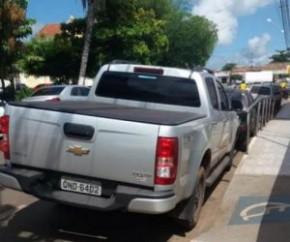 Vereador do Maranhão é preso com Hilux roubada.(Imagem:Divulgação)