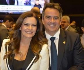 Ciro Nogueira e Iracema Portella(Imagem:Divulgação)