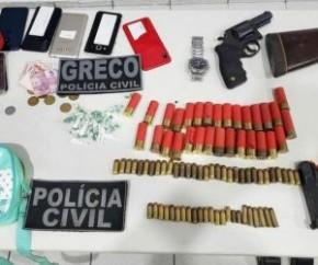 Durante a investigação o Greco conseguiu descobrir que a casa onde foi encontrado todo esse material para roubo a banco, tinha sido alugada pela acusada a pedido de um dos integran(Imagem:Reprodução)