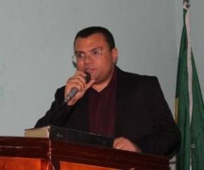 Prefeito Ângelo José Sena Santos(Imagem:CidadeVerde.com)