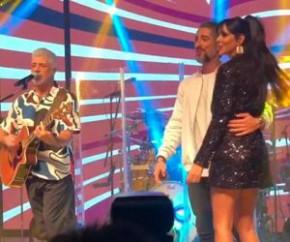 Marcos Mion comemora 40 anos com show de Lulu Santos.(Imagem:Folha Press)