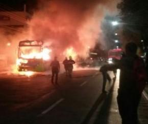 Setut classifica como ato de bandido protesto que incendiou ônibus.(Imagem:Cidadeverde.com)