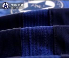 Detalhes do novo uniforme do Parnahyba.(Imagem:Divulgação)
