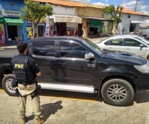 Veiculo roubado no município de Floriano(Imagem:Divulgação/PRF)