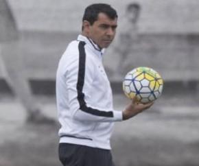 Técnico Carille diz que negociação com Corinthians está adiantada.(Imagem:Daniel Augusto Jr.)