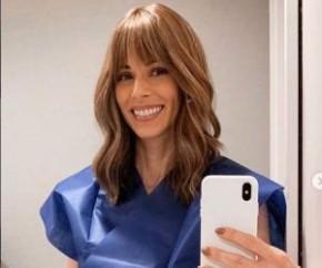 Ana Furtado comemora 3 meses sem quimioterapia fazendo exercícios.(Imagem:Estadão Conteúdo)