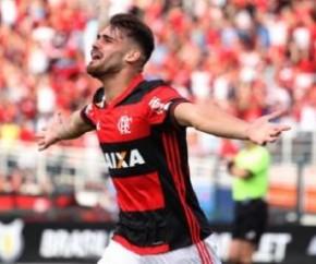 Grêmio reforça o ataque e acerta contratação de Felipe Vizeu.(Imagem:Gilvan de Souza/Flamengo)