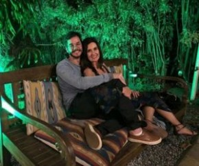 Fátima Bernardes organiza noite romântica para namorado.(Imagem:Instagram)