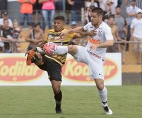 Corinthians perde e segue fora de zona classificatória no Paulistão.(Imagem:Daniel Augusto Jr)