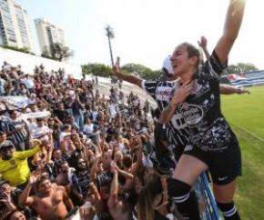 Torcida do Corinthians esgota ingressos para final do Paulista feminino.(Imagem:Divulgação)