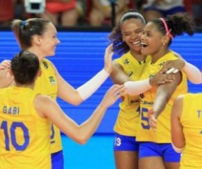 Brasil busca título inédito do Campeonato Mundial de Vôlei feminino(Imagem:Divulgação/FIVB)
