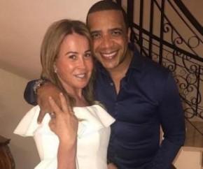 Zilu Camargo e Marco Antônio Teles(Imagem:Instagram)