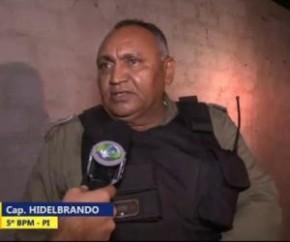 Capitão Hildebrando, do 5º BPM(Imagem:Cidadeverde.com)