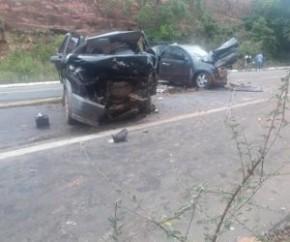 Grave acidente deixa cinco feridos e um morto na BR-135.(Imagem:Fala Piauí)