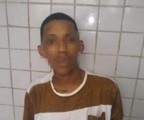 Bandido realiza assalto e atira contra as vítimas em Teresina.(Imagem:Divulgação/PM)