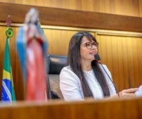 Deputada Teresa Britto (PV)(Imagem:Alepi)