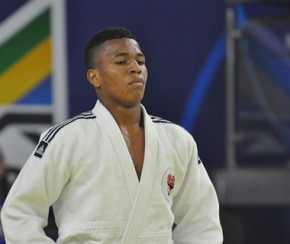 Judoca Emerson Silva(Imagem:Lara Monsores/CBJ)