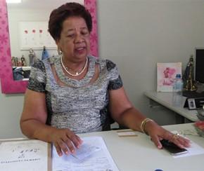Delegada Wilma Alves(Imagem:CidadeVerde.com)