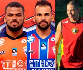 Altos anuncia mais três reforços para a Copa do Nordeste 2019 .(Imagem:Itabaiana)