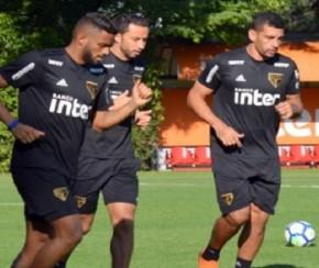 Lugano critica biquinho de Nenê por ficar na reserva no São Paulo.(Imagem:Érico Leonan)