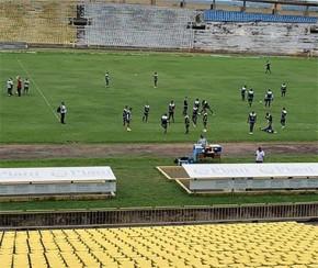 Altos faz treino secreto antes da estreia na Copa do Nordeste.(Imagem:CidadeVerde.com)
