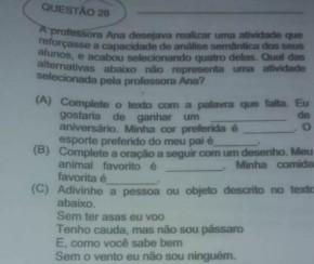 Candidatos fazem novas denúncias contra provas do concurso público de Floriano.(Imagem:Reprodução)