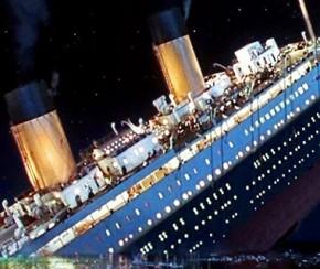 Relíquias do Titanic são vendidas por R$ 70 milhões.(Imagem:Folha Press)