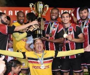 A festa é riverina com mais um título de campeão piauiense.(Imagem:Elziney Santos)