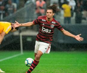 Flamengo vence Corinthians fora de casa e abre vantagem na Copa do Brasil.(Imagem:Divulgação)