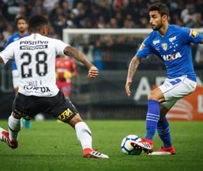 Corinthians sai atrás, se recupera e empata com o Cruzeiro em amistoso.(Imagem:Vinnicius Silva/Cruzeiro E.C)