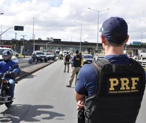 PRF registra quatro acidentes e mais de 100 flagrantes por excesso de velocidade.(Imagem:Cidadeverde.com)
