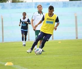 Altos não conta com estreia de laterais contra o Botafogo-PB.(Imagem:Luís Júnior/A.A.Altos)